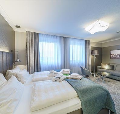 Doppelzimmer Strandhotel Duhnen